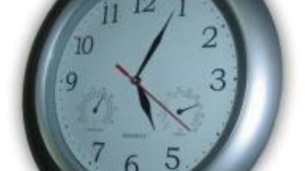 Przestawiamy zegarki