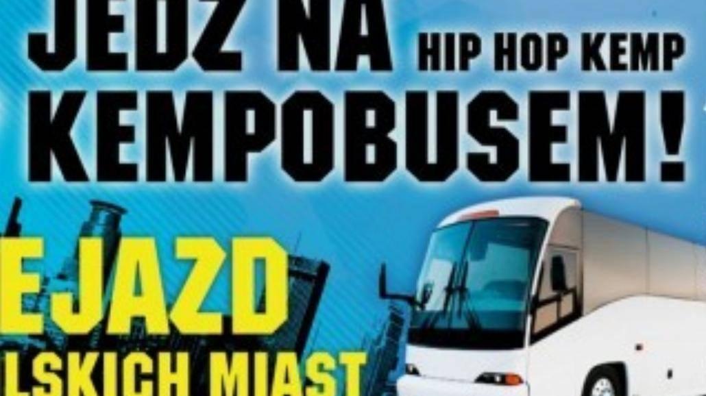 Hip Hop Kemp - Jedź na festiwal Kempobusem!