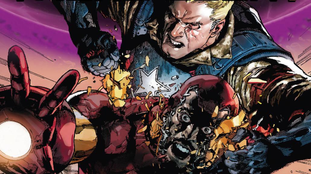 Marvel Now , Tajne wojny - Wojna domowa