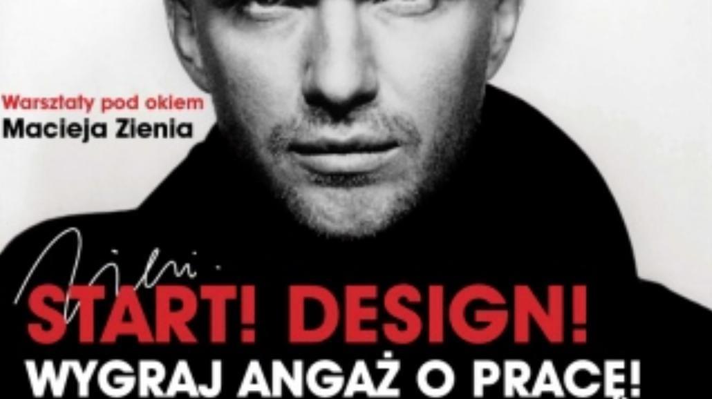 Maciej Zień prowadzi warsztaty z designu