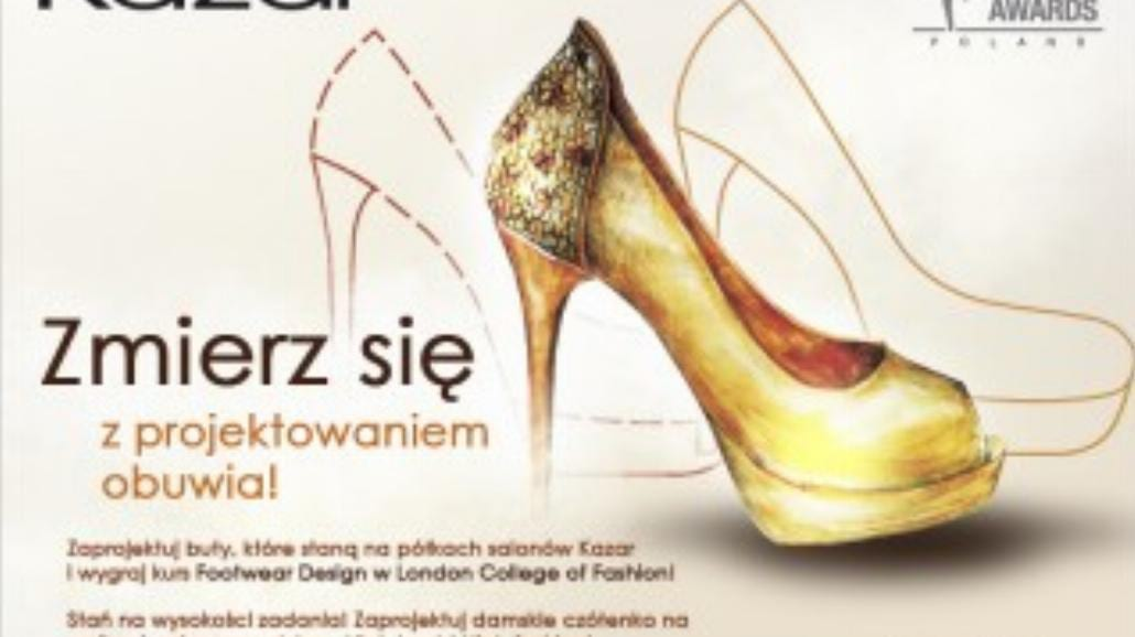 Zaprojektuj buty dla Kazar. Wygraj kurs w Londynie