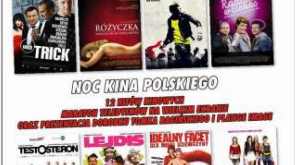Kultowe polskie filmy w Noc Kina Polskiego