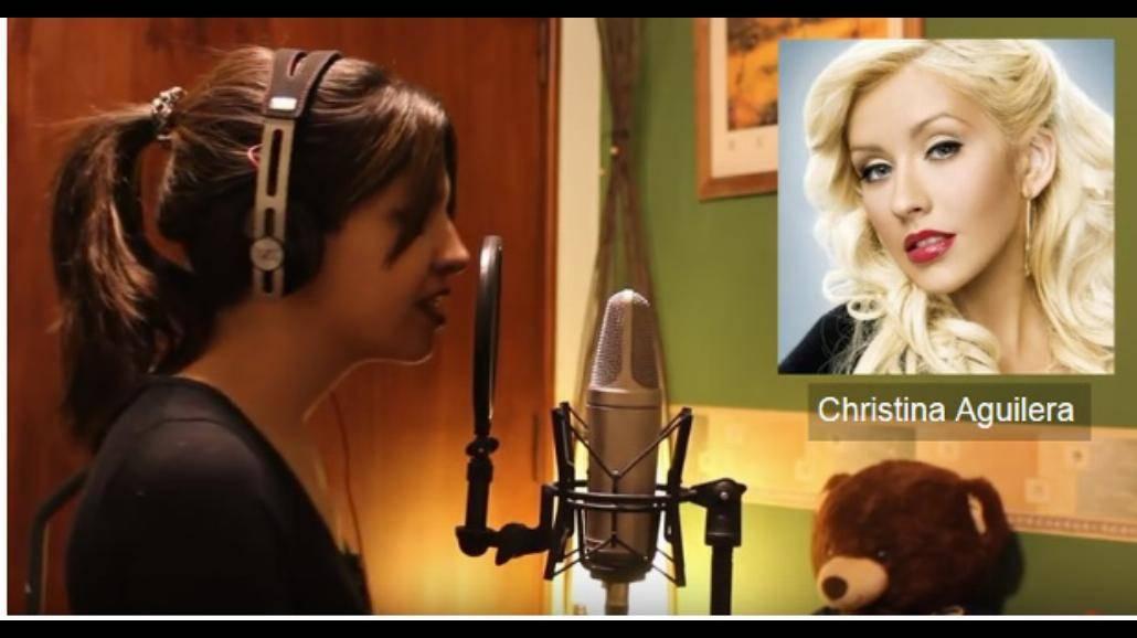 Zaśpiewała jeden utwór głosami Shakiry, Celine Dion, Ariany Grande i innych gwiazdi! Zobacz nagranie! [WIDEO]