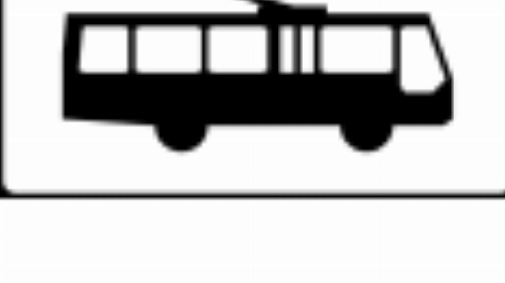 """T-23g """"tabliczka wskazująca trolejbusy"""""""