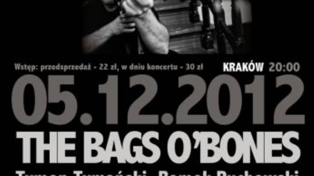 Tymon Tymański i The Bags O Bones w Krakowie