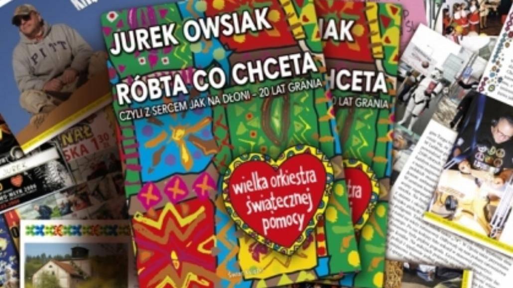 Zobacz, gdzie Jerzy Owsiak podpisze książkę