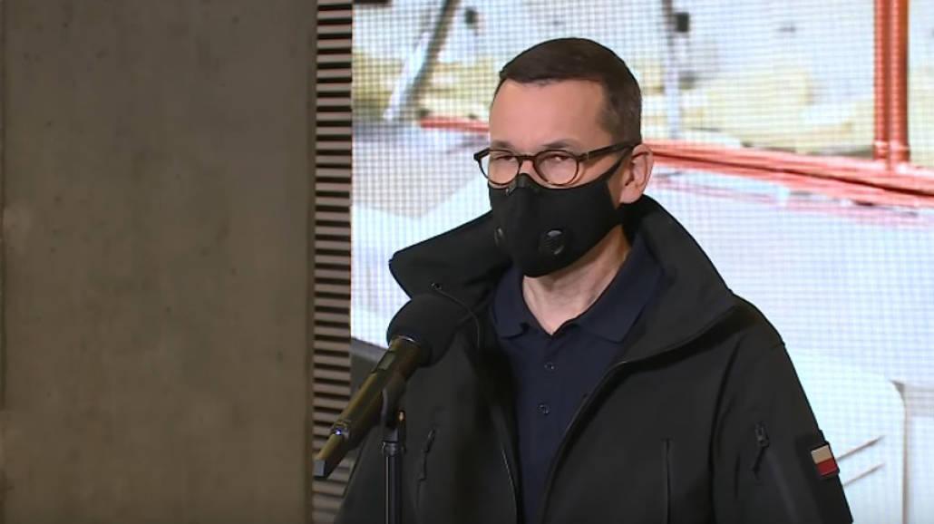 Premier Morawiecki : Wyrok TK nie dotyczy przypadków zagrożenia życia kobiety [WIDEO]
