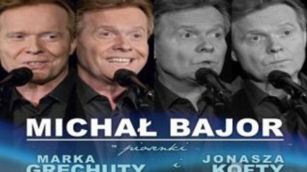Michał Bajor śpiewa piosenki Grechuty i Kofty