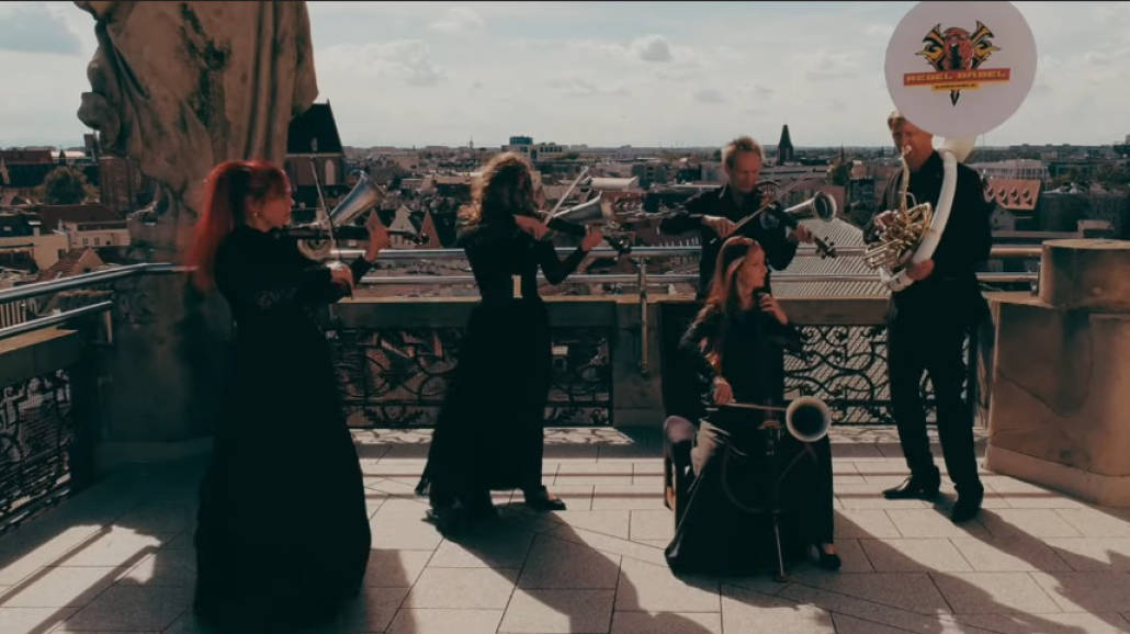 L.U.C. z orkiestrą Rebel Babel Ensemble