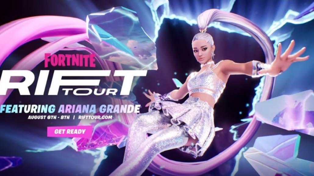 Koncert Ariany Grande w grze Fortnite