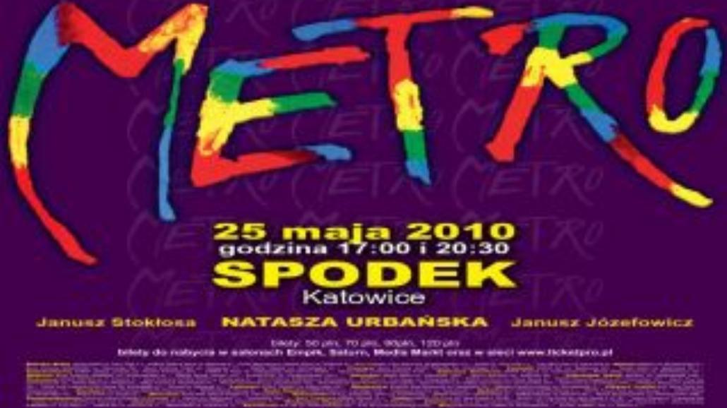 "Musical ""Metro"" w katowickim Spodku"