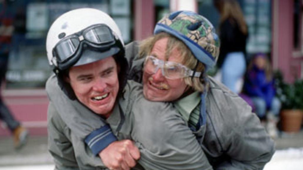 """Carrey i Daniels w """"Głupi i głupszy 2"""""""