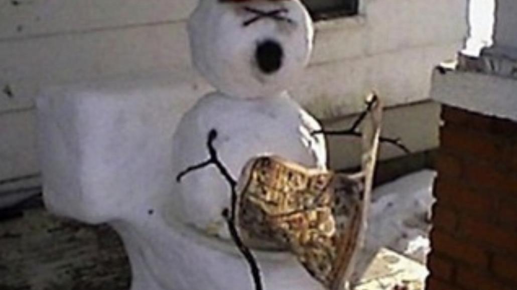 Najbardziej pomysłowe śniegowe bałwany (FOTO)