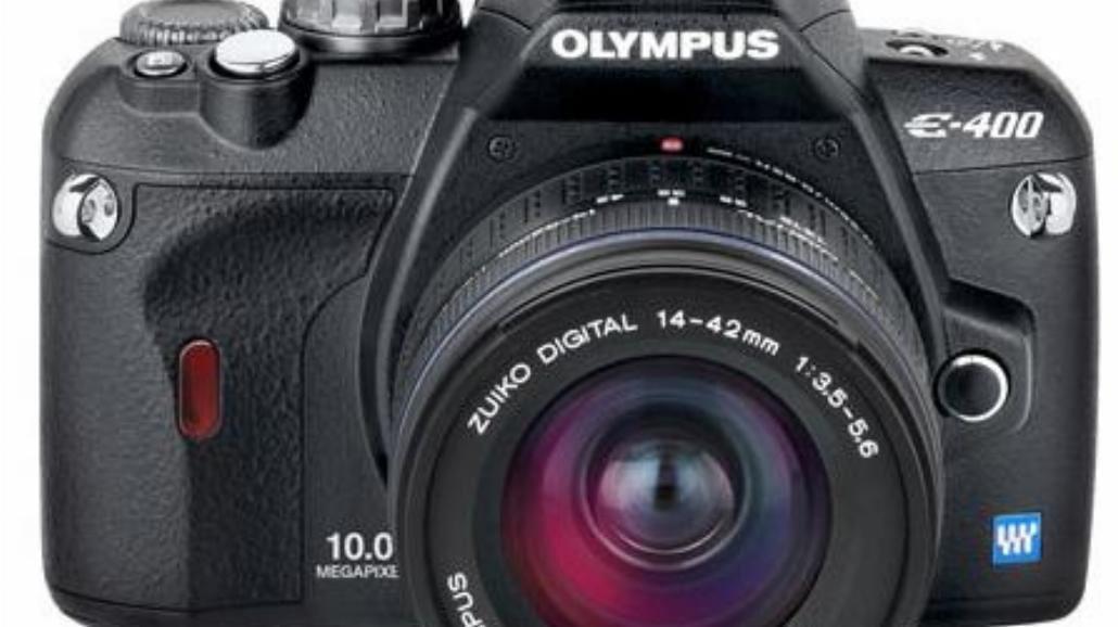Olympus E-400: najlżejsza lustrzanka cyfrowa.