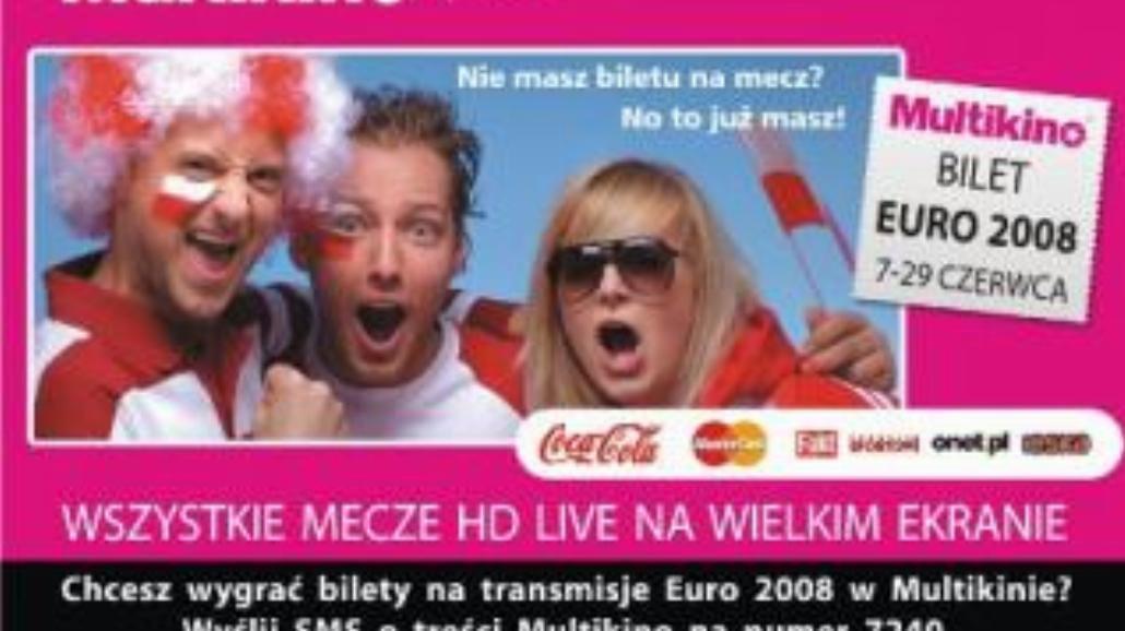 Transmisje finałów Euro w Multikinie!