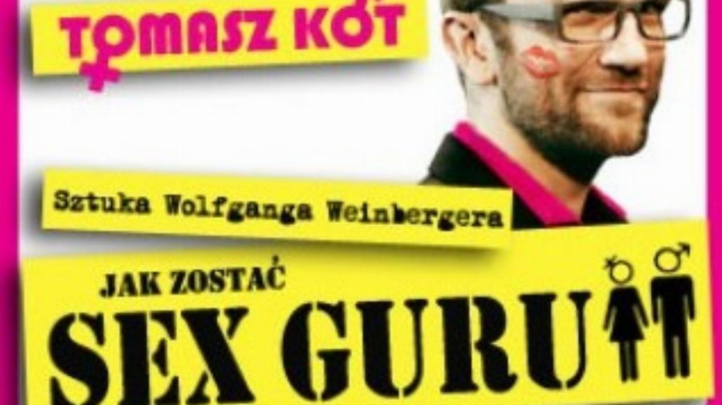"""Wrocław: Jak zostać """"Sex-Guru""""? Spektakl z Kotem"""