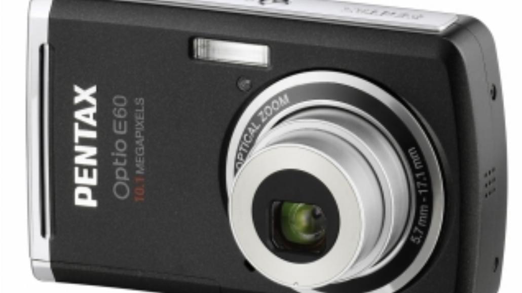 Kompakt dla początkujących - Pentax Optio E60