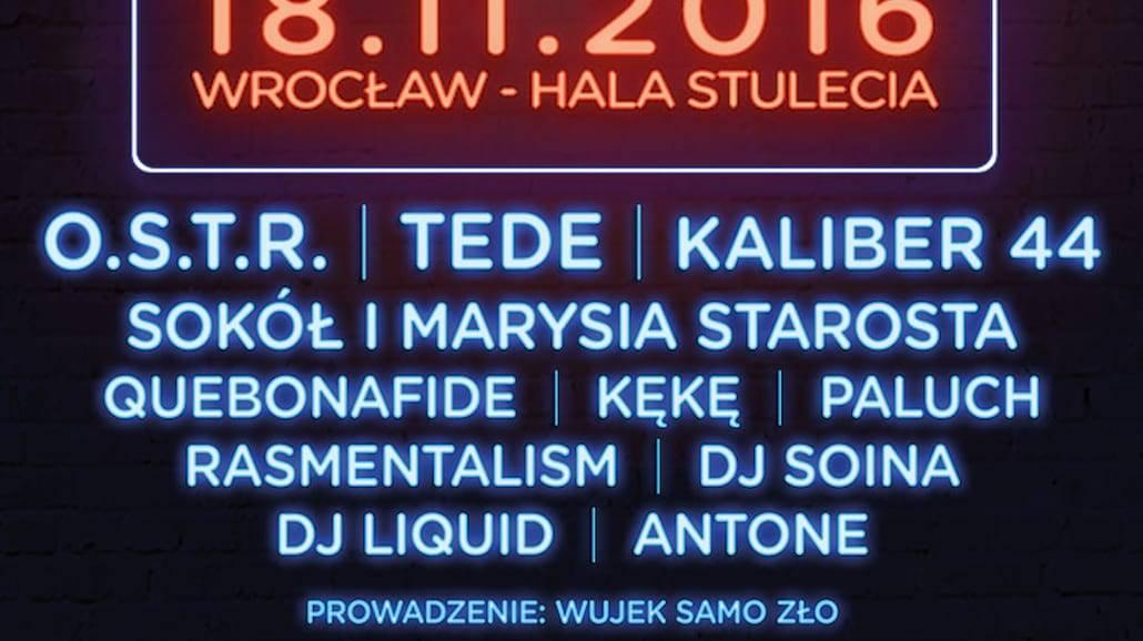 Wrocław Hip Hop Festival już niebawem! Poznajcie szczegóły!