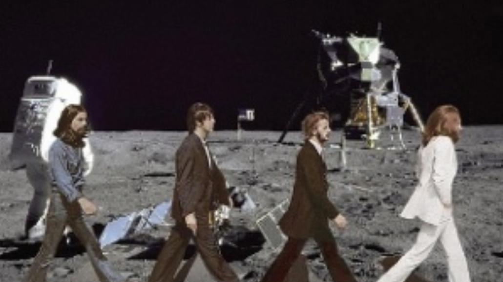 Wojna światów przez Beatlesów