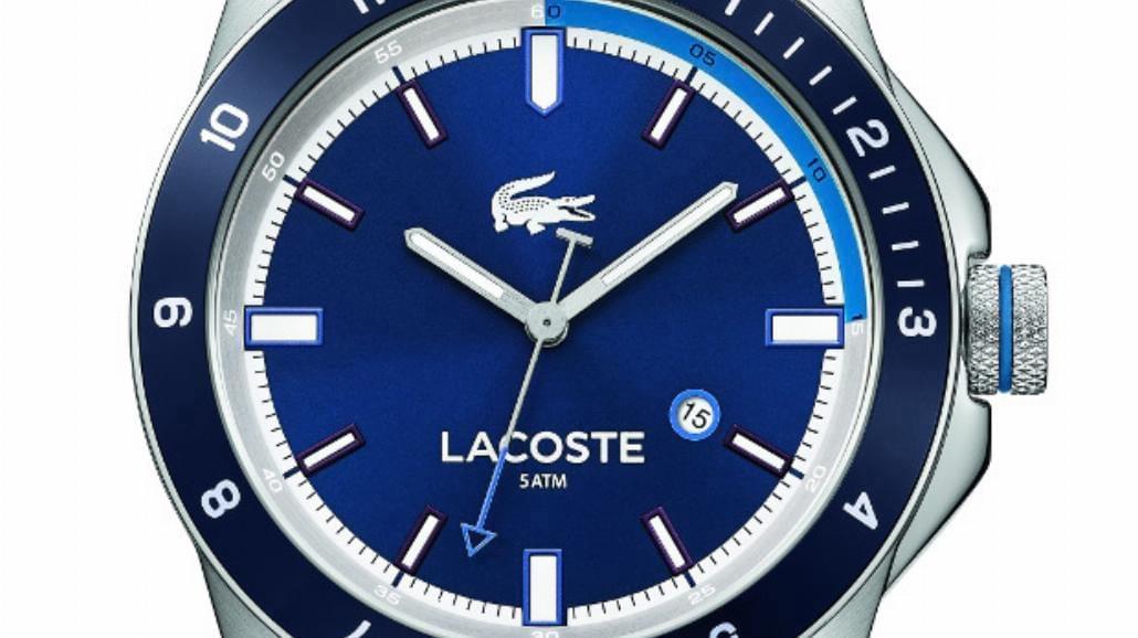 Lacoste prezentuje zegarki na dzianinowym pasku