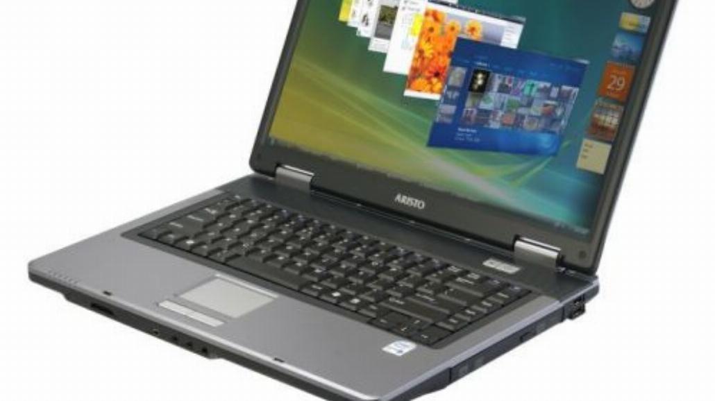 Notebooki ARISTO z Windows Vista