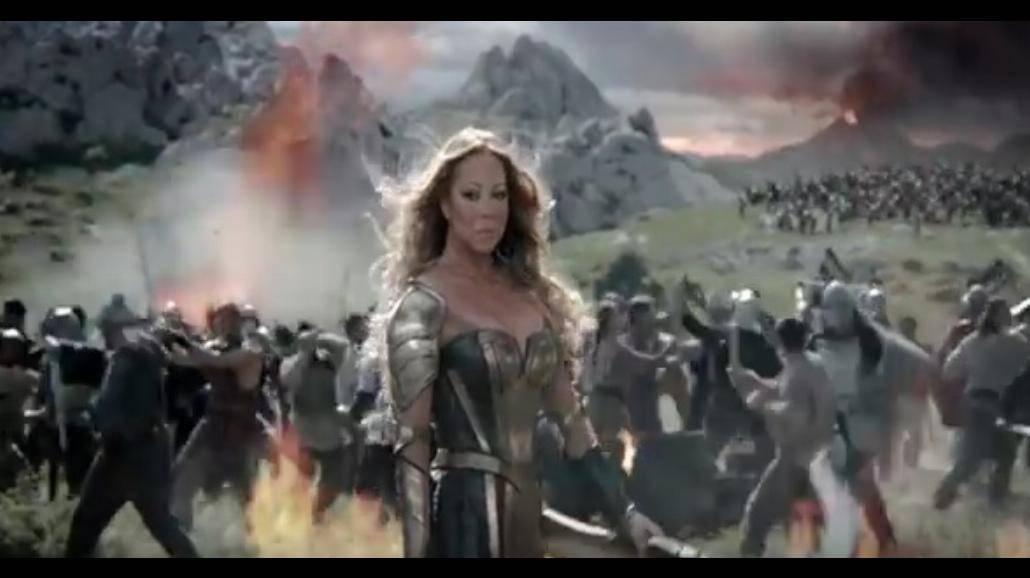 Mariah Carey jako Xena: Wojownicza Księżniczka. Zobaczcie wideo i zdjęcia!