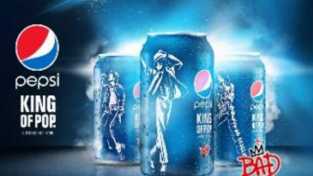Puszki Pepsi z Michaelem Jacksonem