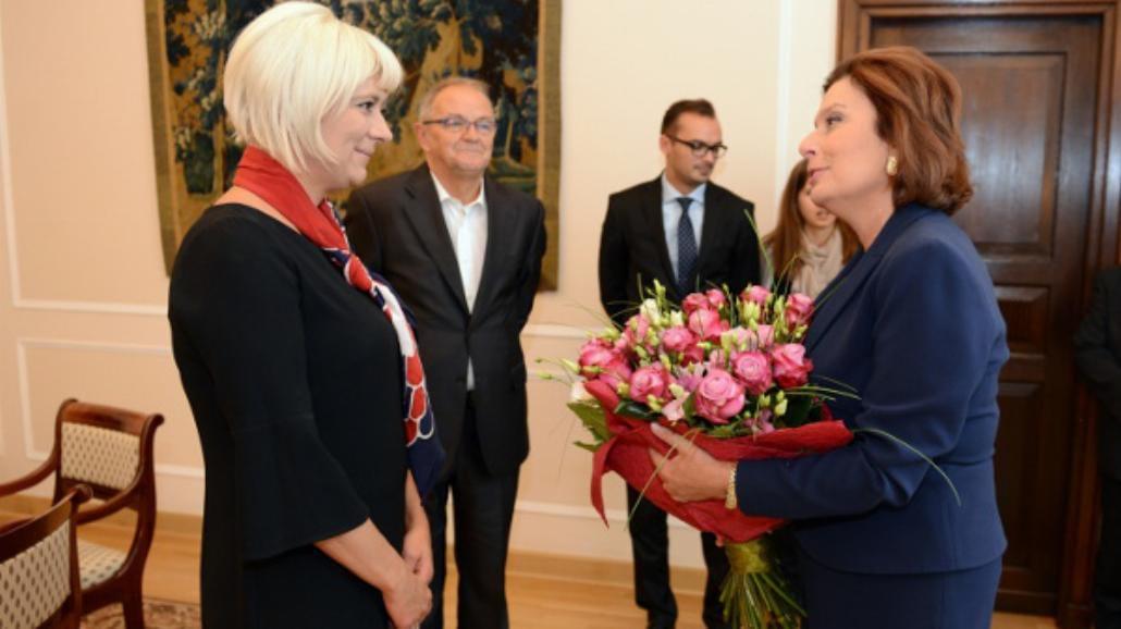 Marszałek sejmu podziękowała Agnieszce Odorowicz