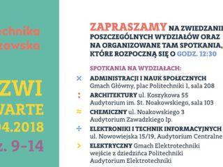 Drzwi Otwarte Politechniki Warszawskiej - oferta studiów, rekrutacja, dziewczyna na politechniki
