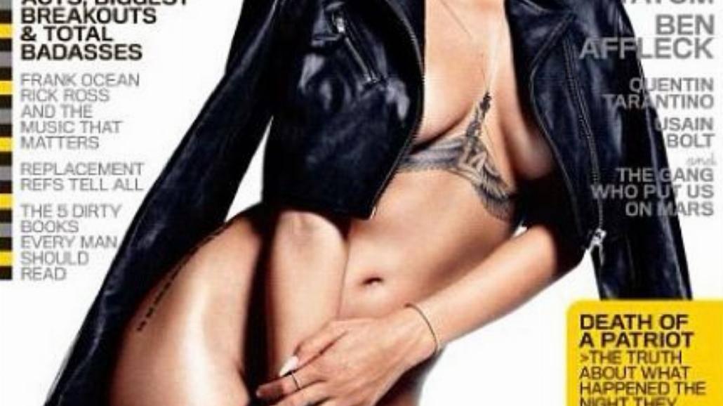 Rihanna nago na okładce GQ