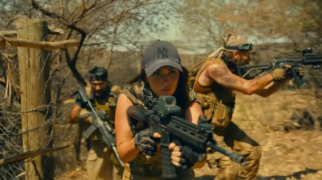 Megan Fox w filmie Rogue