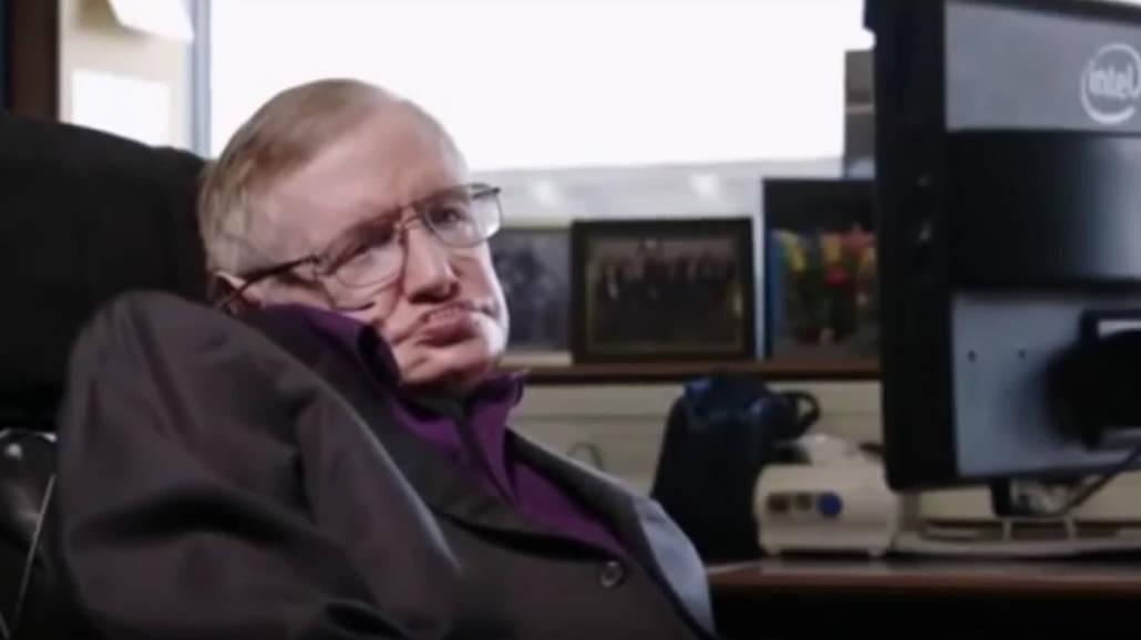 Zmarł Stephen Hawking [WIDEO]