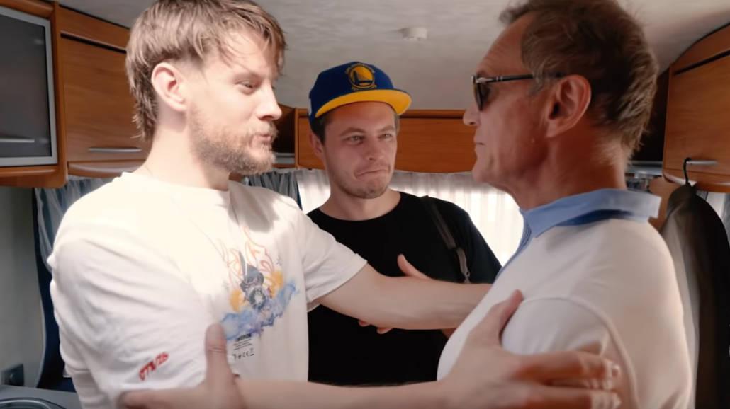 Psy 3 - kulisy filmu z Cezarym Pazurą