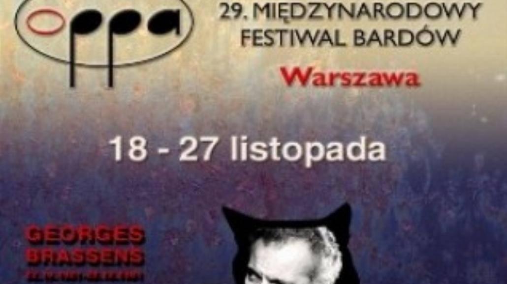 Festiwal Bardów OPPA 2011 już 18 listopada