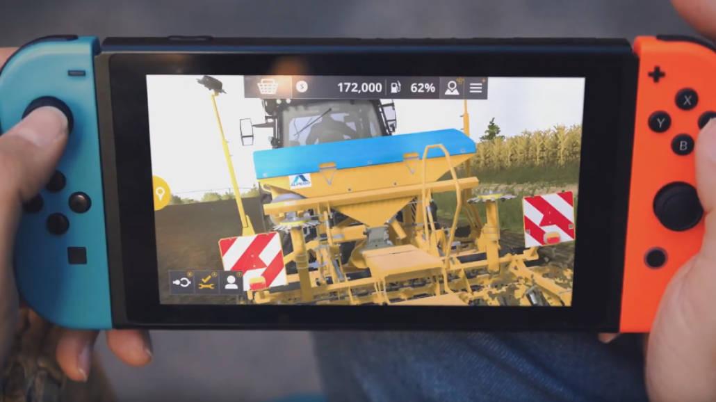 Farming Simulator 20 na Nintendo Switch