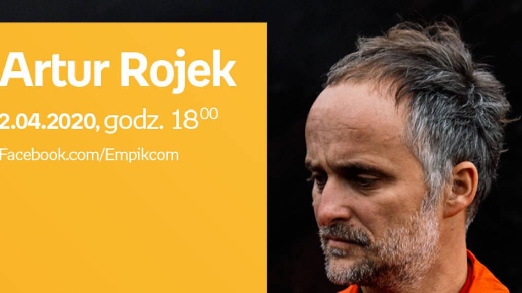 Artur Rojek - spotkanie autorskie online