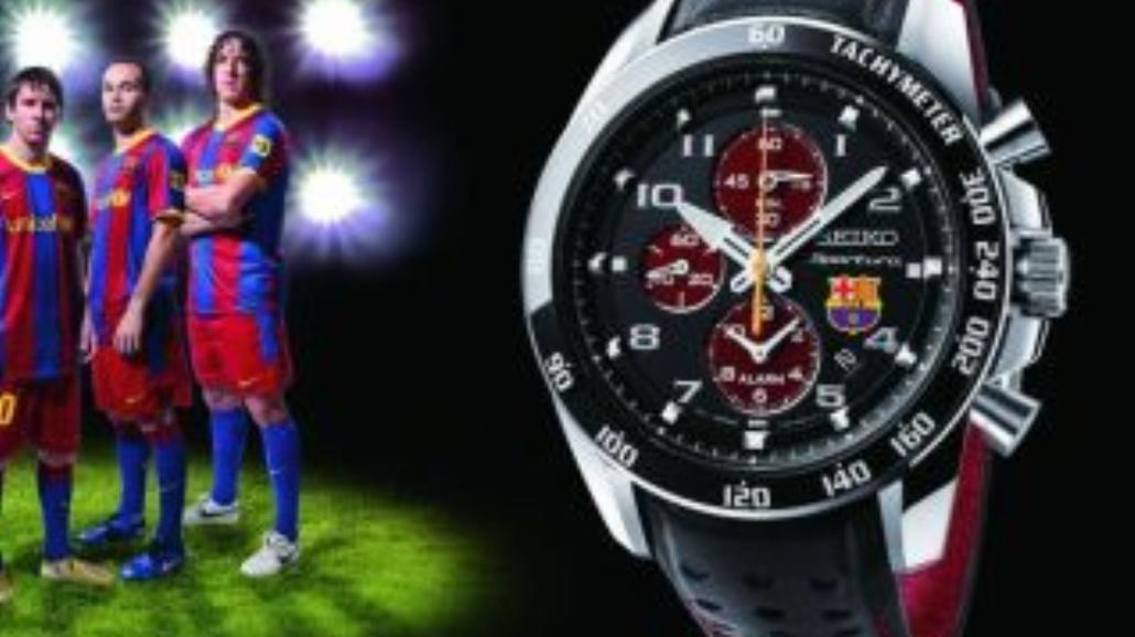 Zegarek dla fanów FC Barcelona
