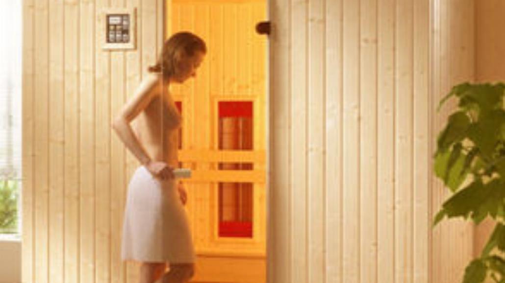 """Sauna """"Infrared"""" w Bellissima Club"""
