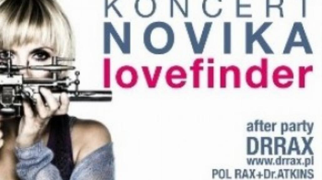 "Novika - ""Lovefinder"" na żywo"