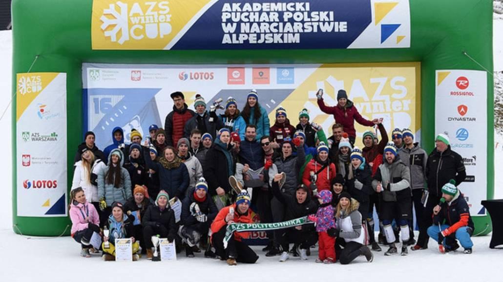 Finał Akademickiego Pucharu Polski odbył się na stoku Harenda w Zakopanem.