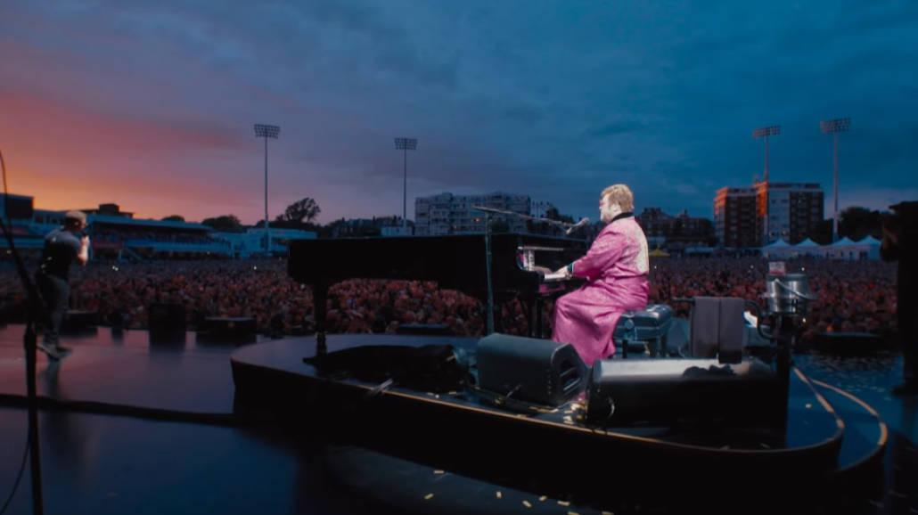 Elton John i Taron Egerton