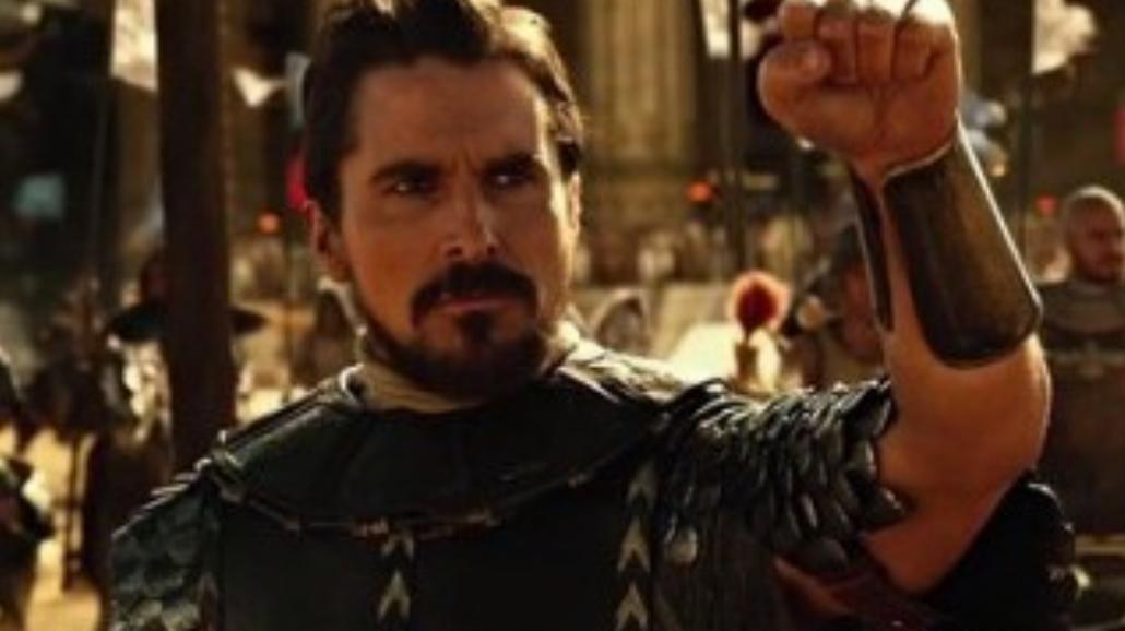 Christian Bale w Exodus: Bogowie i królowie