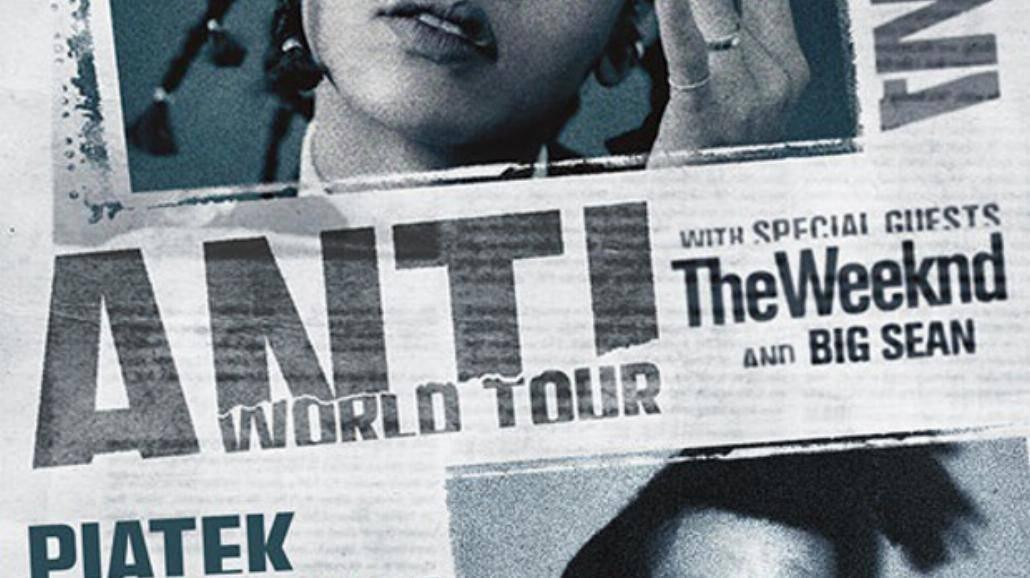 Ruszyła sprzedaż biletów na Rihanna - Anti World Tour! [BILETY]