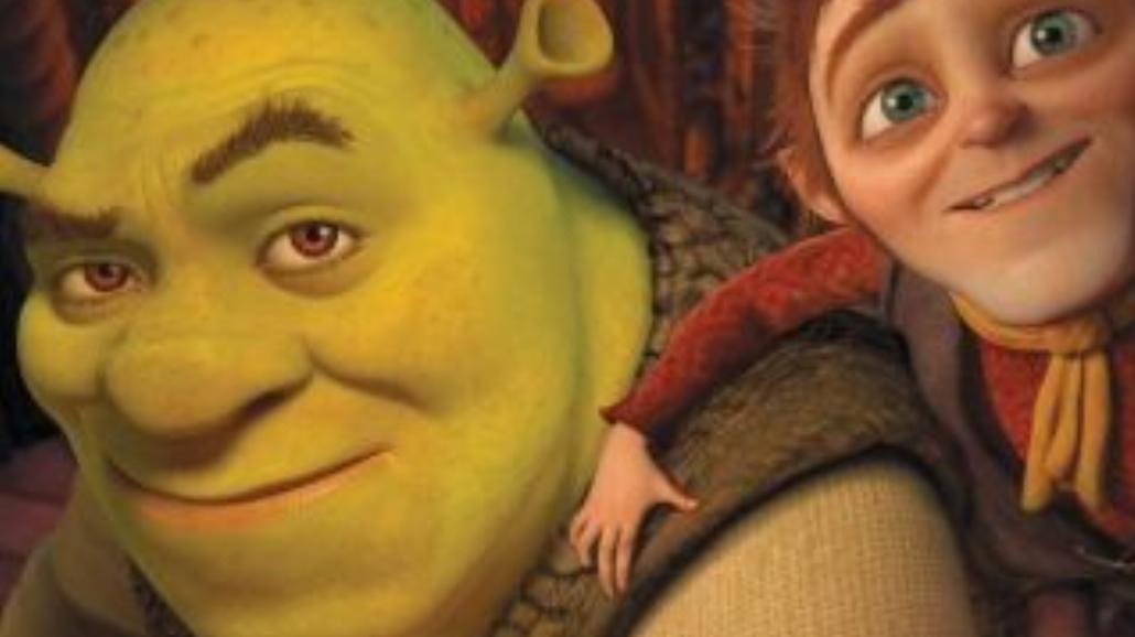 Pantoflarz Shrek opanuje kina