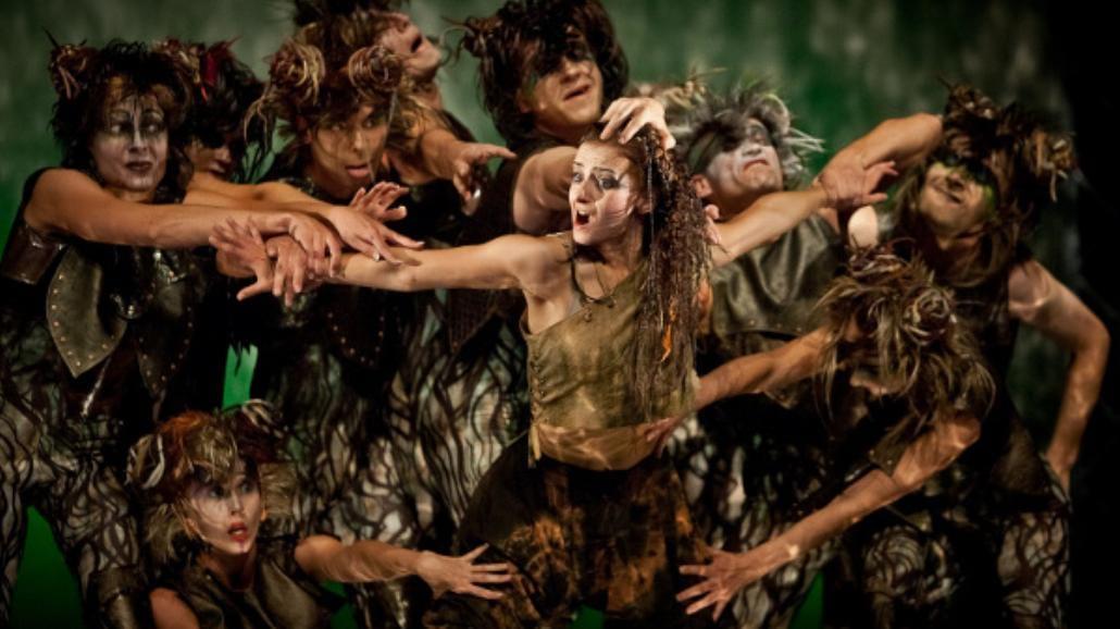 Piąta edycja Sceny Tańca Studio - Walka postu z karnawałem