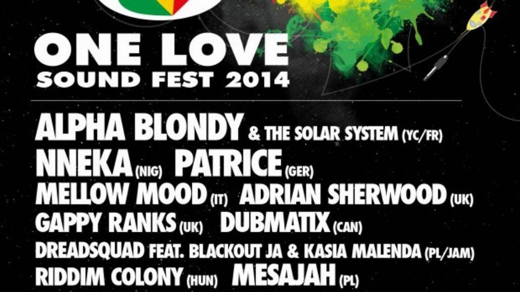 One Love Sound Fest rusza już 22 listopada! Wystapi Nneka i Alpha Blondy [BILETY, WIDEO]