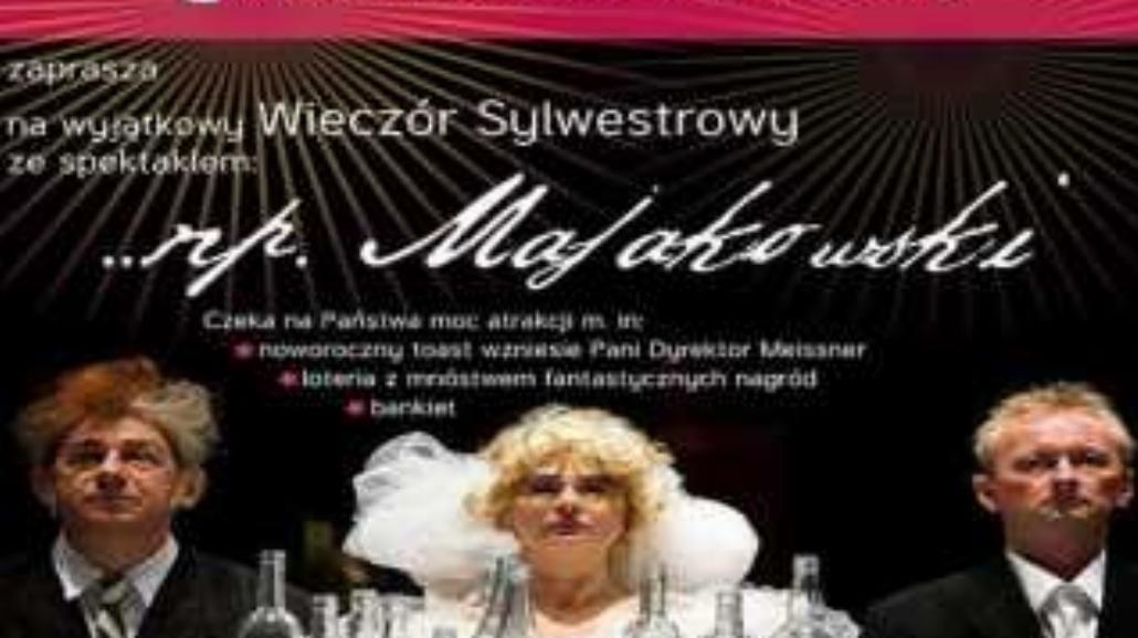 Spędź Sylwestra w Teatrze Współczesnym!