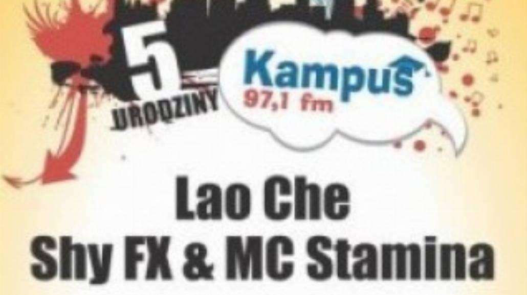 Radio Kampus koncertowo świętuje 5 urodziny!