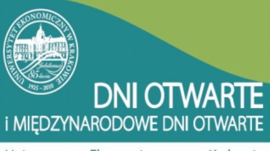 Dni Otwarte Uniwersytetu Ekonomicznego w Krakowie