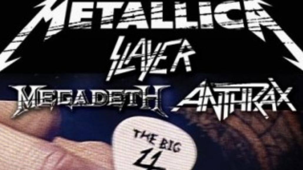 Zwiastun DVD wielkiej 4 thrash metalu!